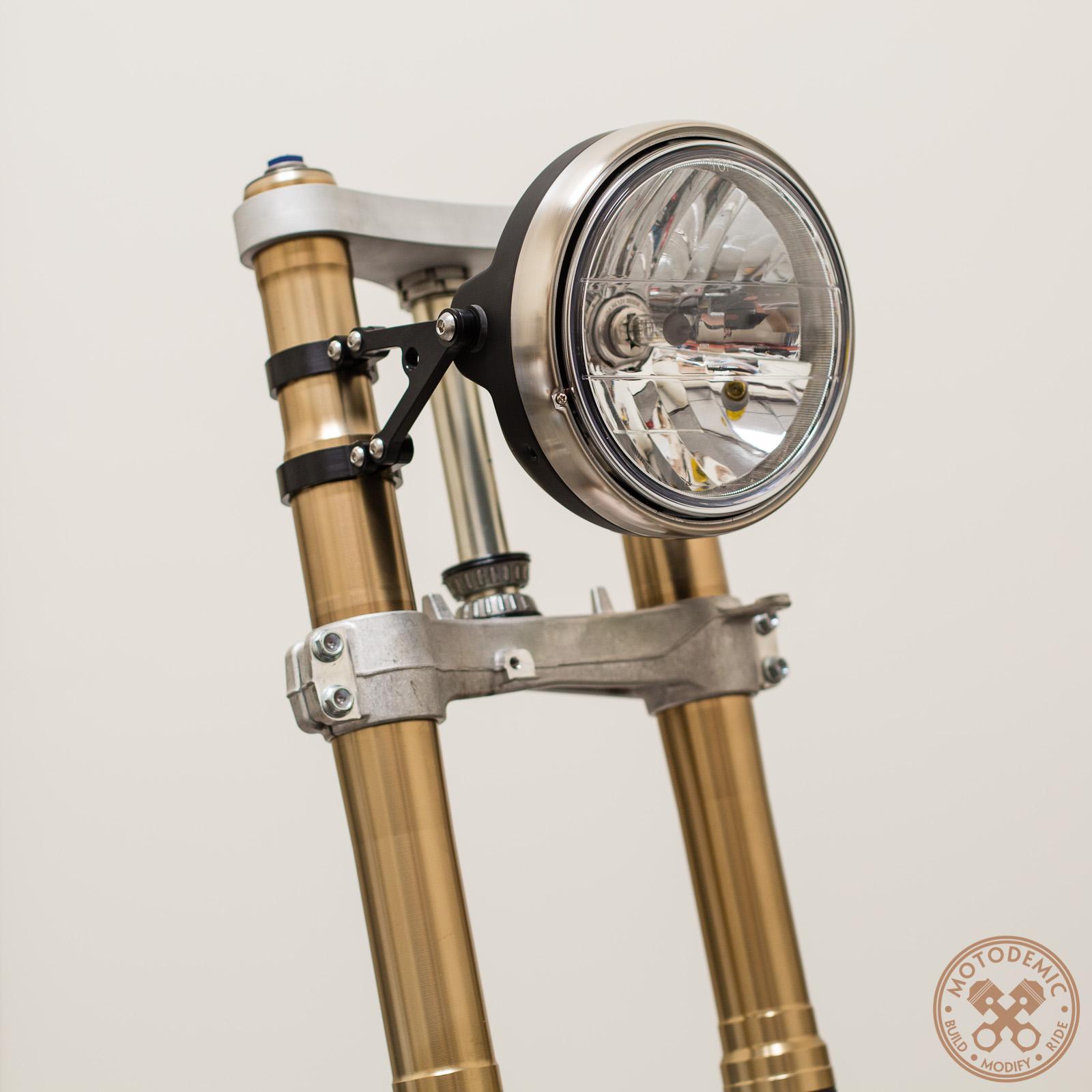 GSXR Custom Headlight Brackets • MOTODEMIC