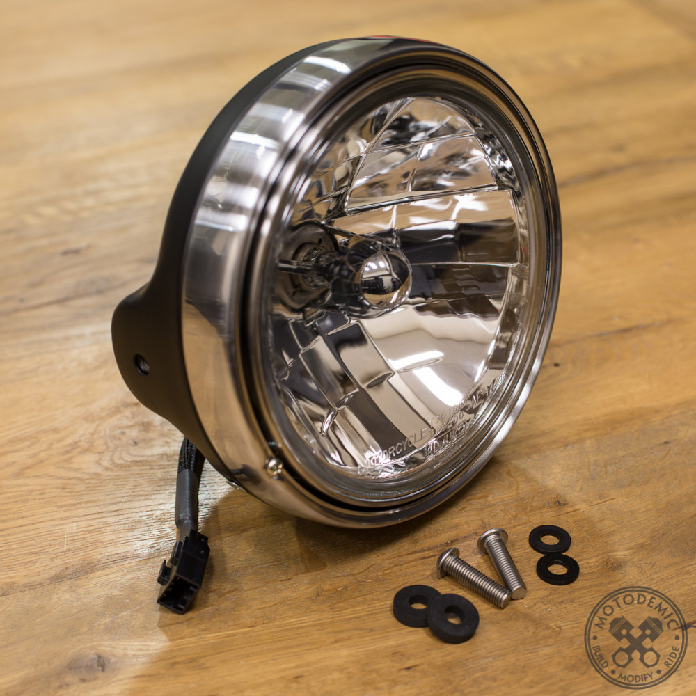 7 Inch Round Headlight Pre-Wired