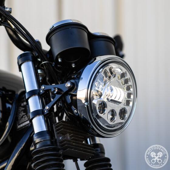 Bonneville LED Headlight - Adaptive