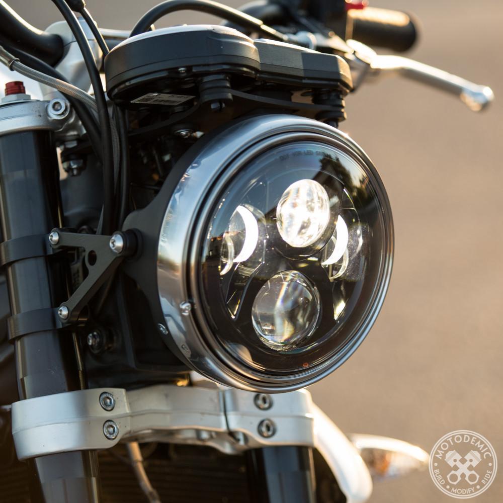 7 Inch Led Headlight Evo 2 Motodemic