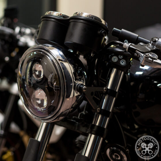Triumph Headlight Brackets - Standard Side Brackets