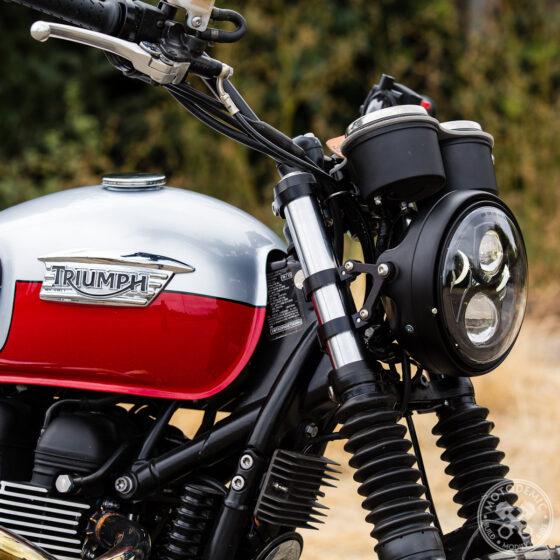 Triumph Bonneville Thruxton Scrambler Headlight Brackets