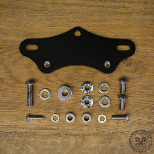 Triumph Rectifier Relocation Kit - Dual Horn