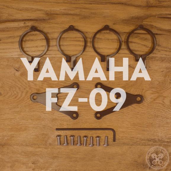 FZ-09 Custom Headlight Brackets