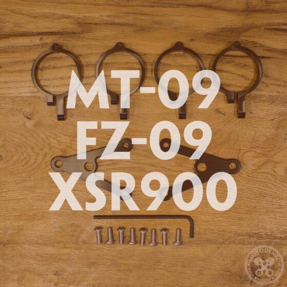 MT-09 FZ-09 XSR900 Custom Headlight Brackets
