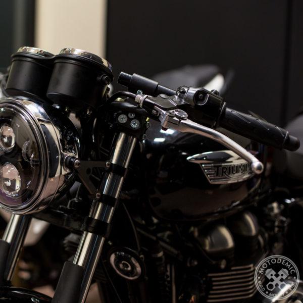 Triumph Thurxton Clip-Ons