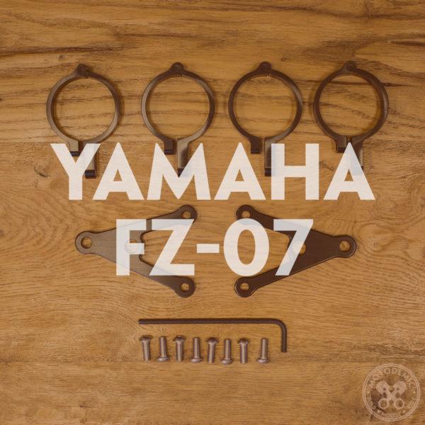 FZ-07 Custom Headlight Brackets