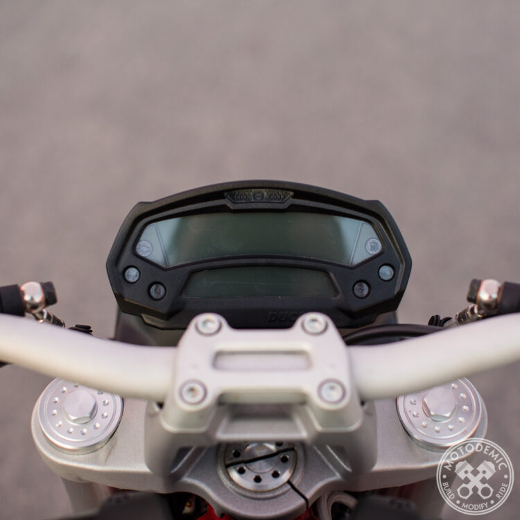 Ducati Monster Headlight Conversion