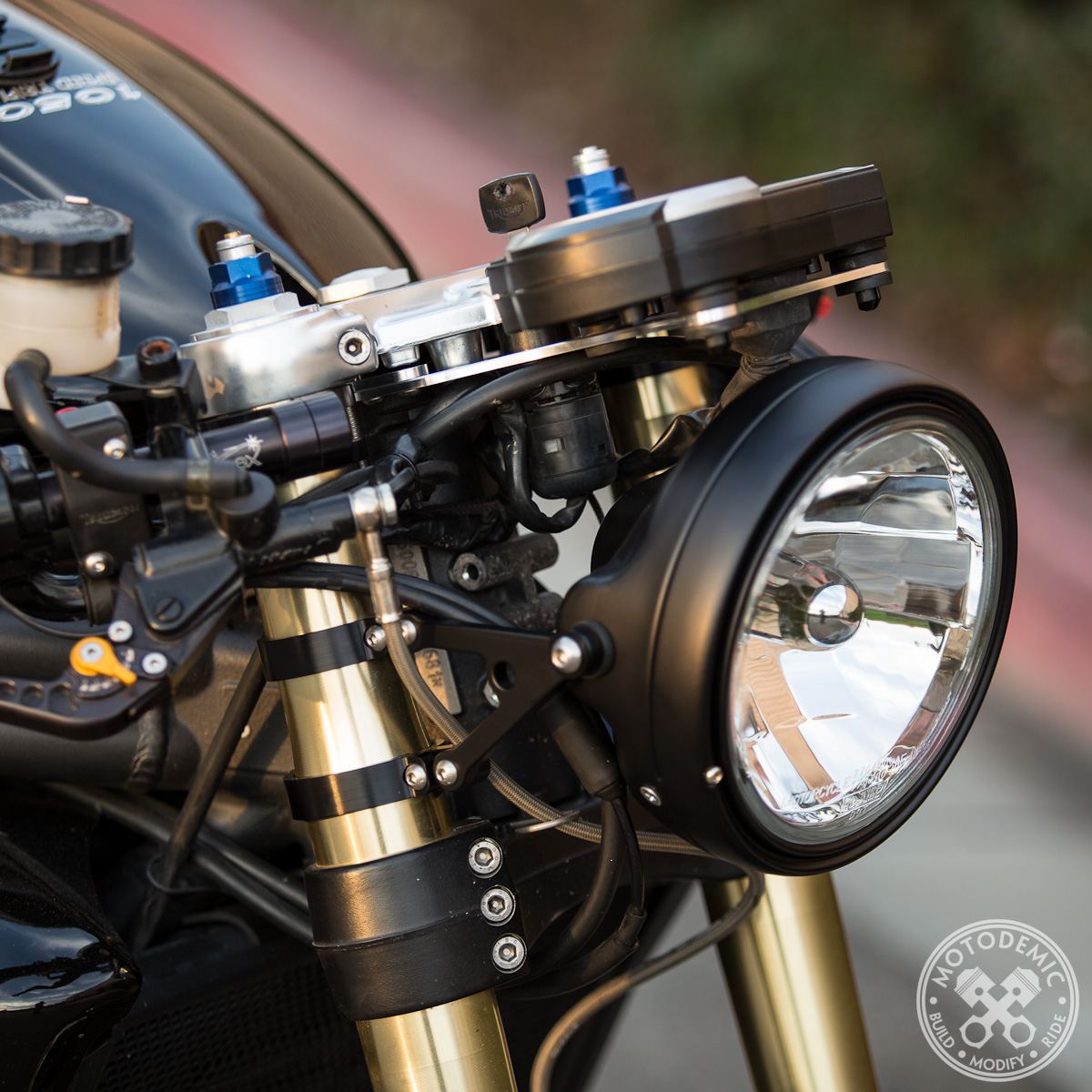 Early Speed Triple Single Headlight Conversion