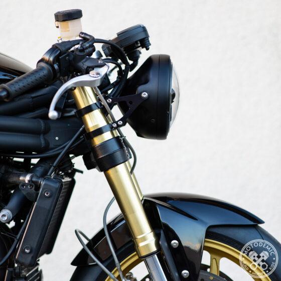 MOTODEMIC Speed Triple Single Headlight Adaptive