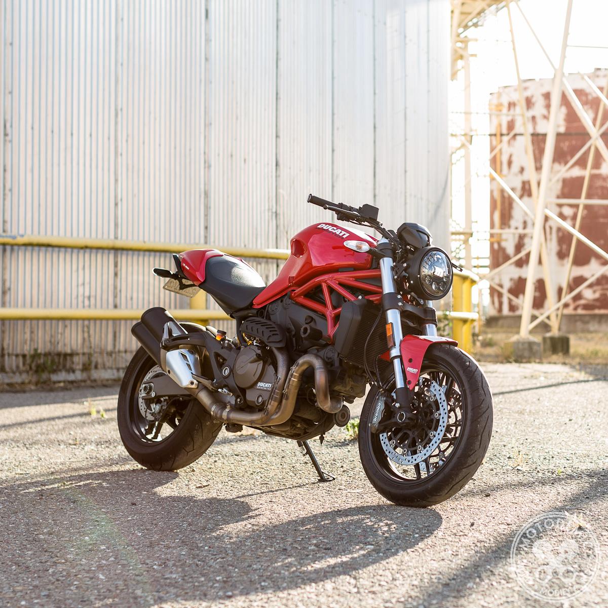 Ducati Monster Headlight Conversion 821 1200 Motodemic