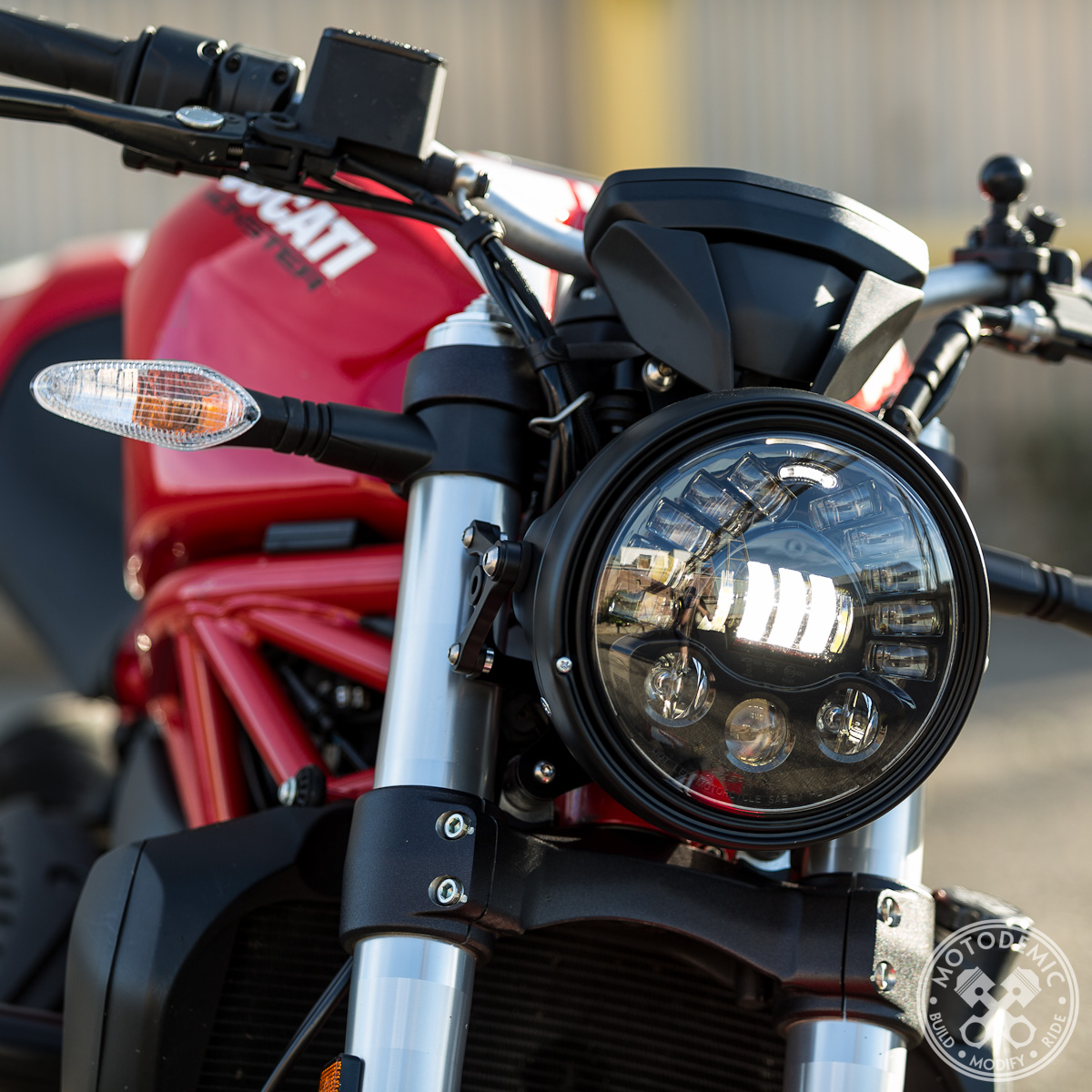 Ducati Streetfighter Headlight Conversion