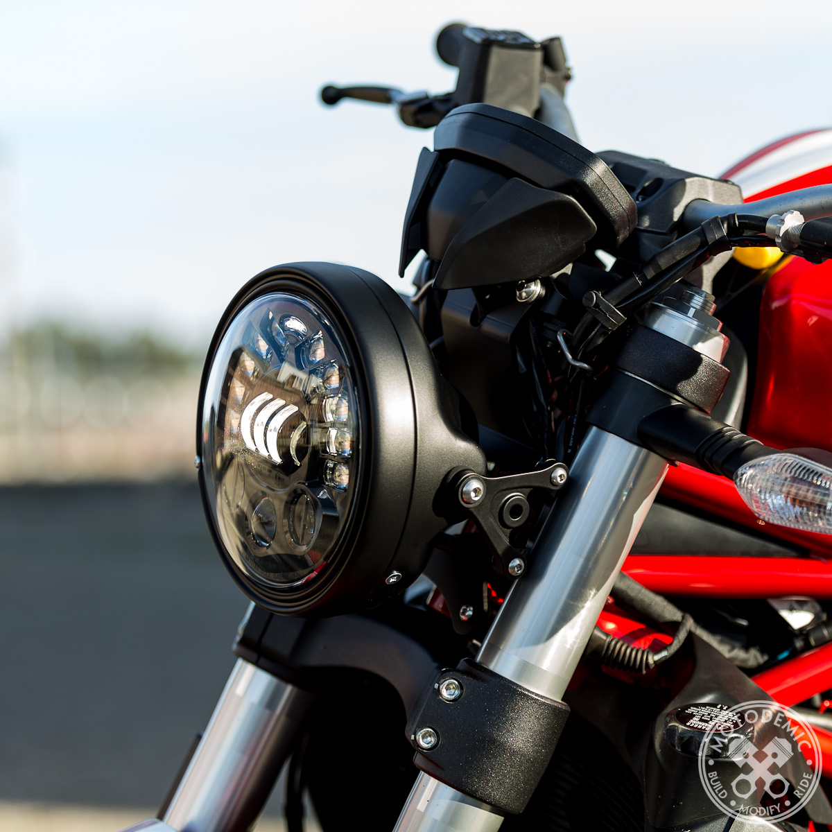 Ducati Monster Streetfighter Headlight