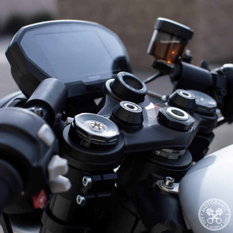 Street Triple Clip-Ons - 2.5-inch Rise