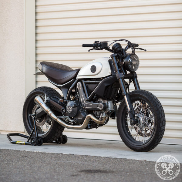 Ducati Scrambler LED Headlight Conversion