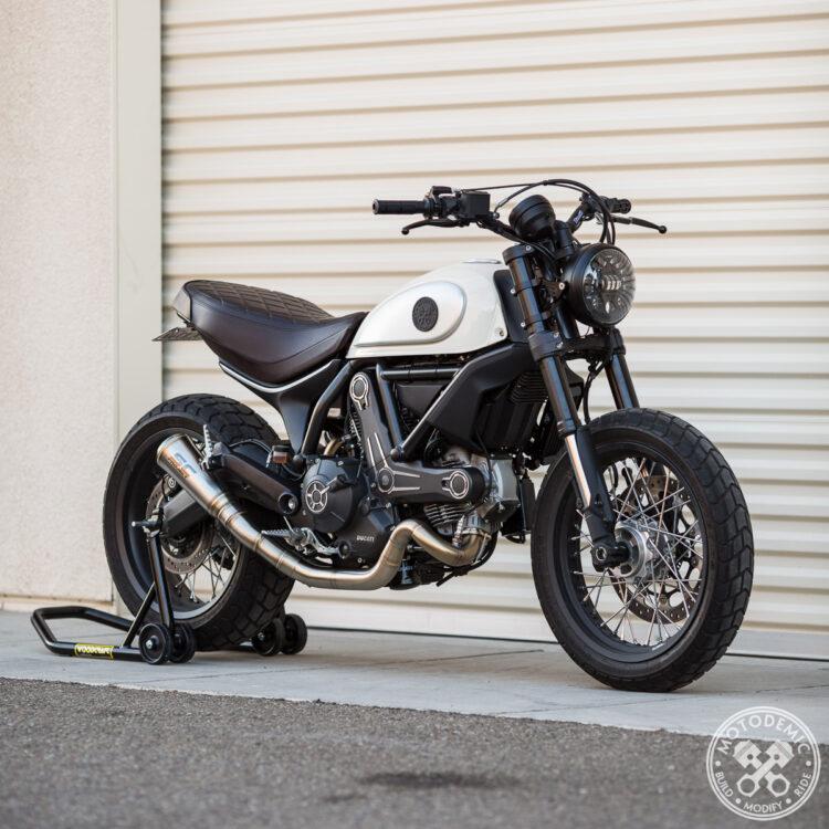 Ducati Scrambler LED Headlight Conversion