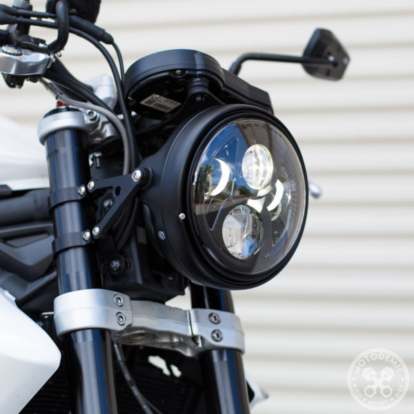 Street Triple Single Headlight Conversion
