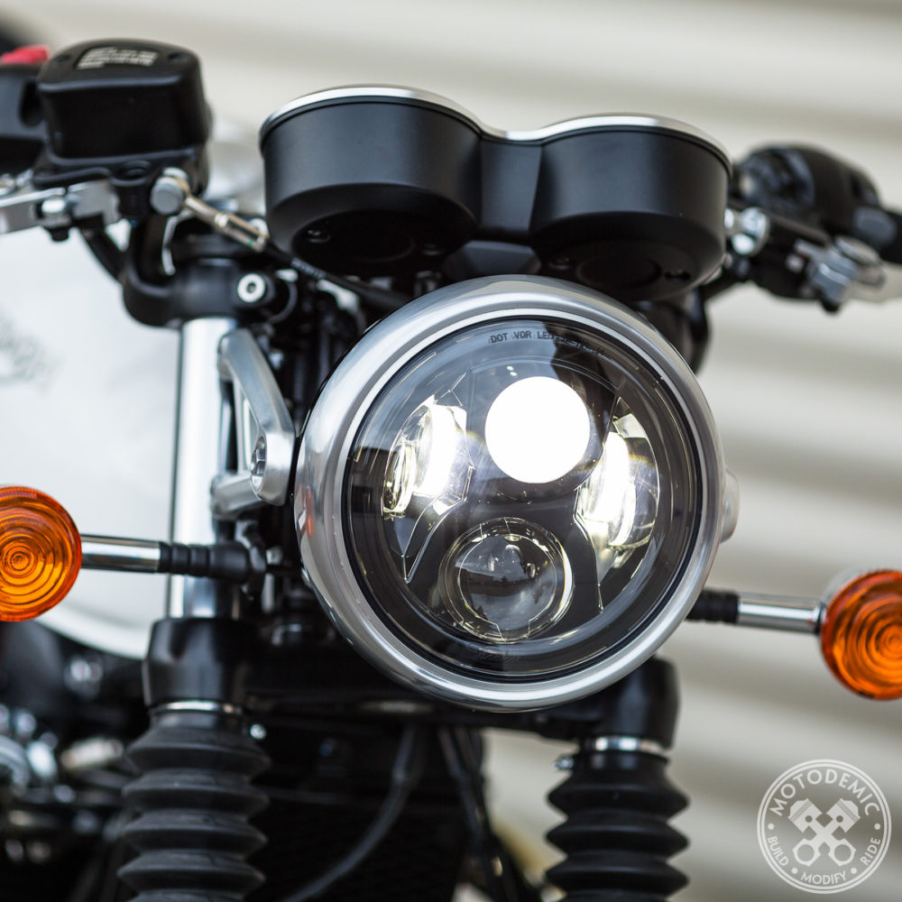 LED Headlight Thruxton 1200