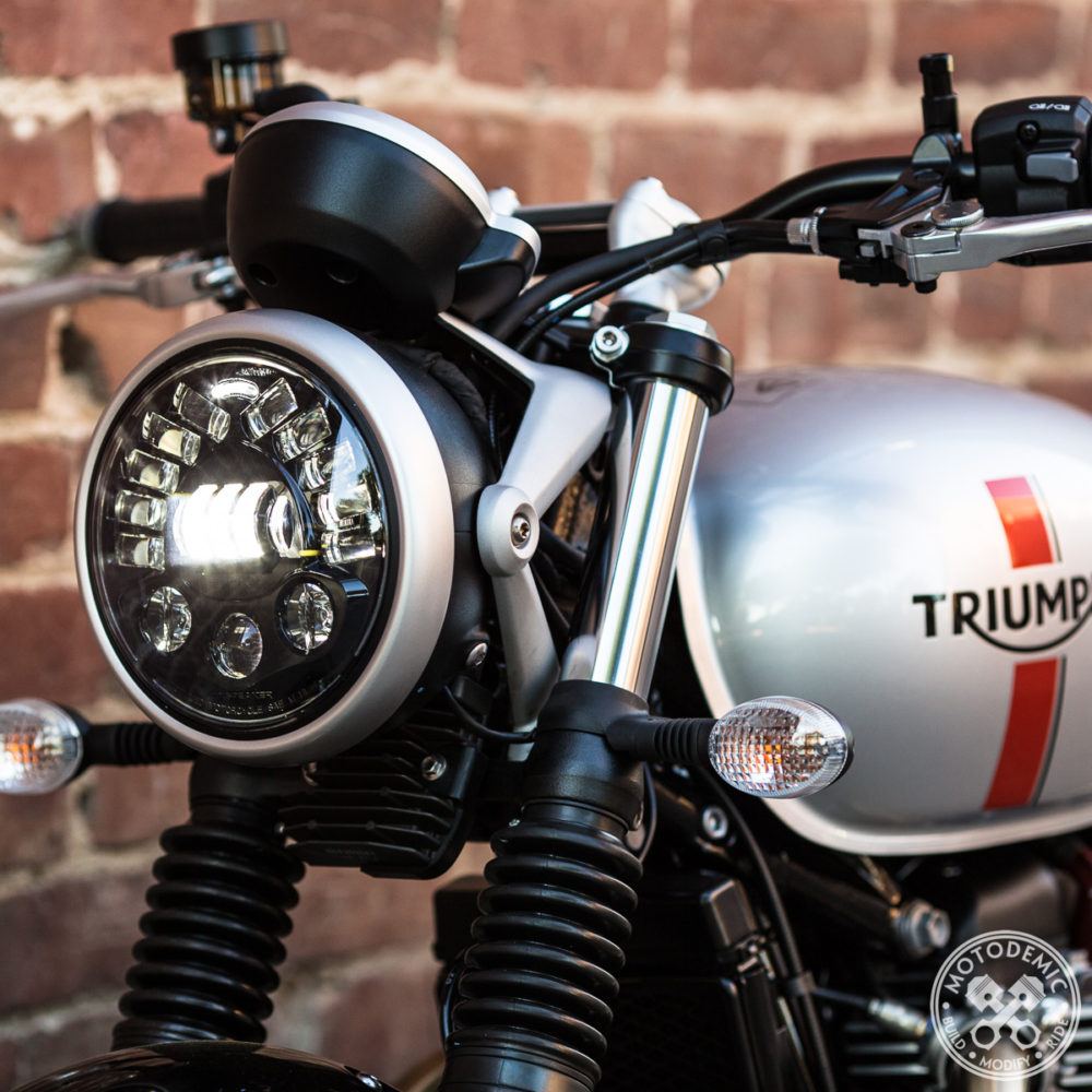Street Twin LED Headlight Upgrade