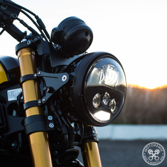 XSR900 Headlight Conversion Evo S