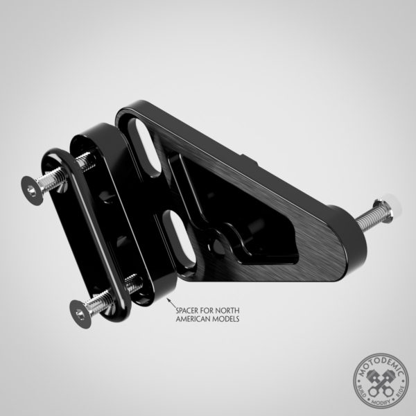 XSR900 Headlight Side Brackets