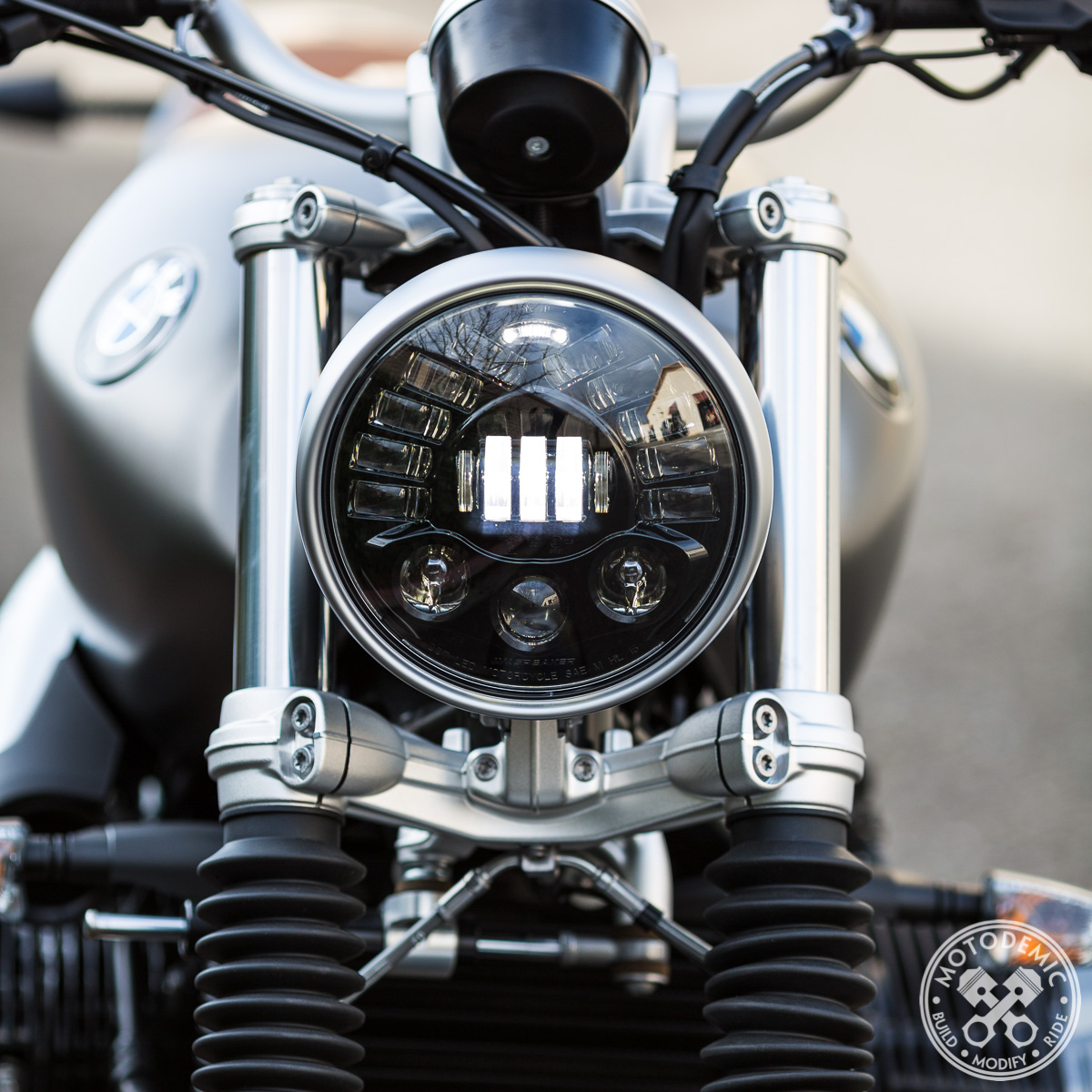 Led Headlight For Bmw Rninet Motodemic