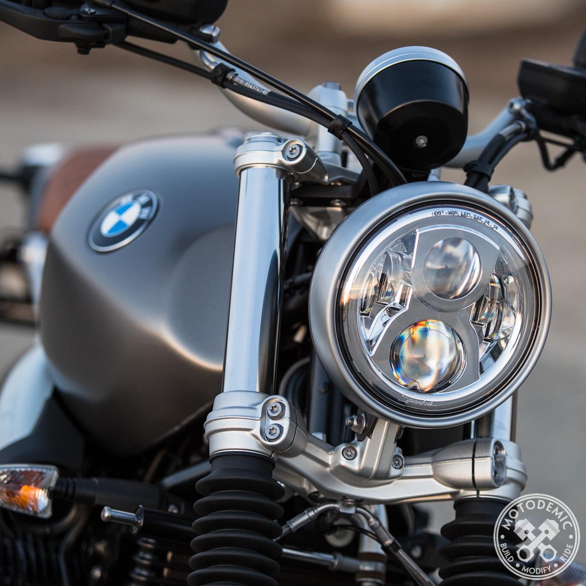 Led Headlight For Bmw Rninet Motodemic