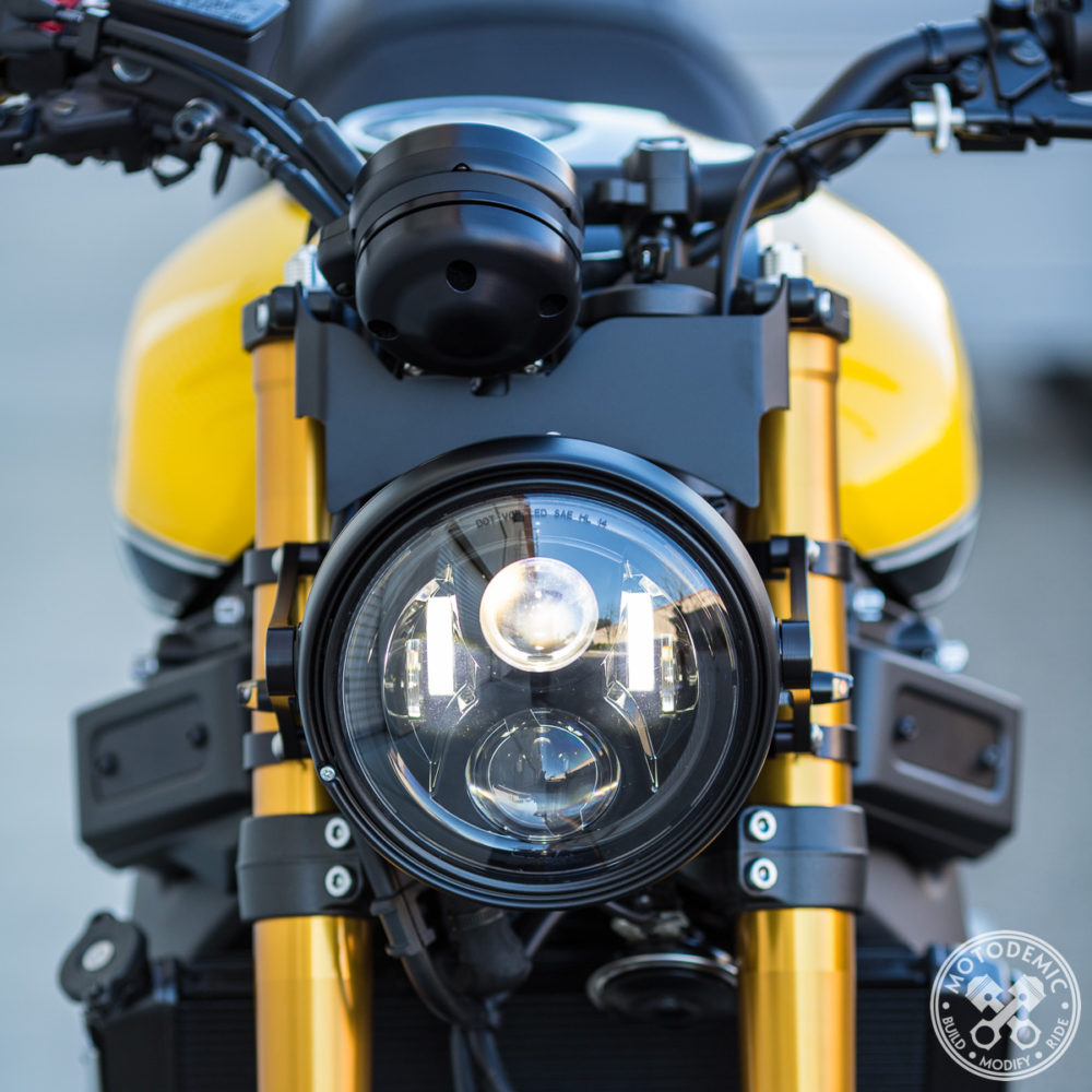XSR900 7 Inch Headlight Conversion - Standard LED