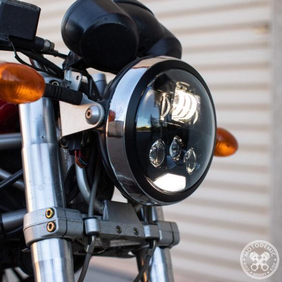 Monster LED Headlight Upgrade - Evo S