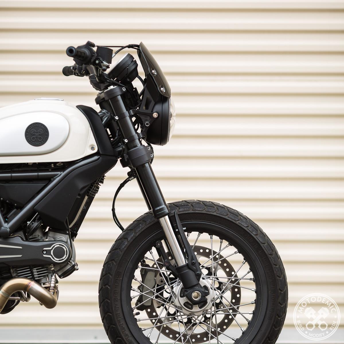 SHIN YO omologate Street Classic Cafe Racer 2 frecce a LED Ducati Scrambler Icon