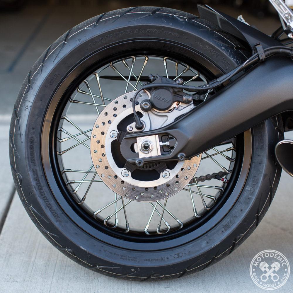 XSR900 Spoked Wheel Conversion