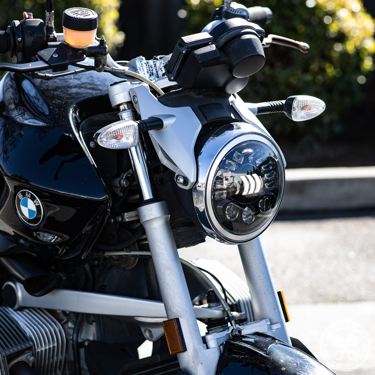 BMW R1200R LED Headlight Upgrade