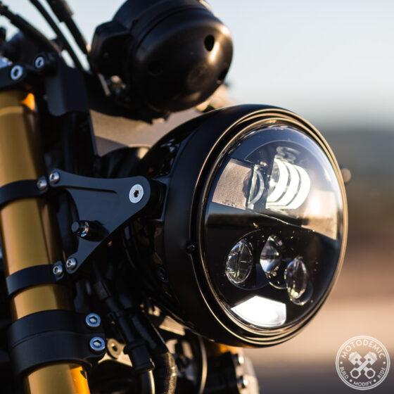 Headlight Conversion Evo S