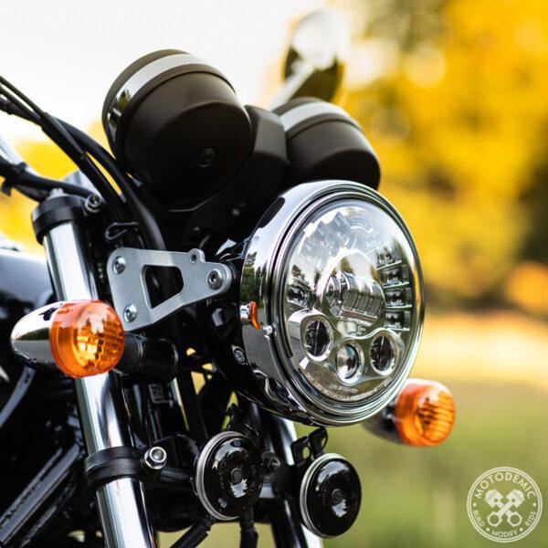 CB1100 LED Headlight Upgrade