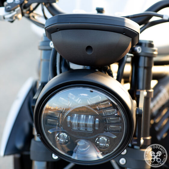 Motodemic 765 Street Triple Single Headlight