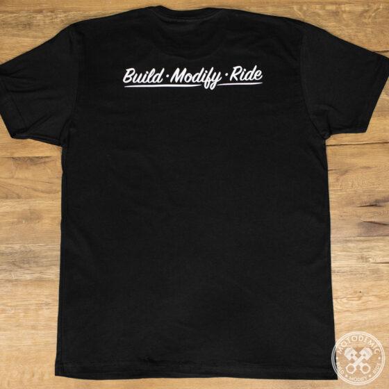 Build Modify Ride Tee - Back