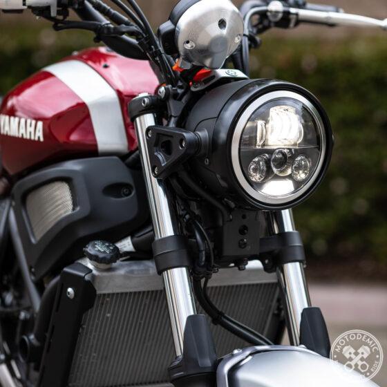 XSR700 LED Headlight Upgrade