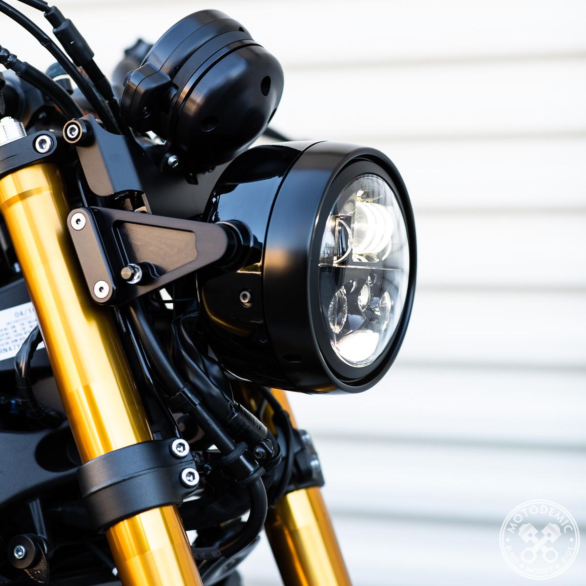 Pair m-Blaze Pin LED Turn Signals Polished Motogadget MG6004010