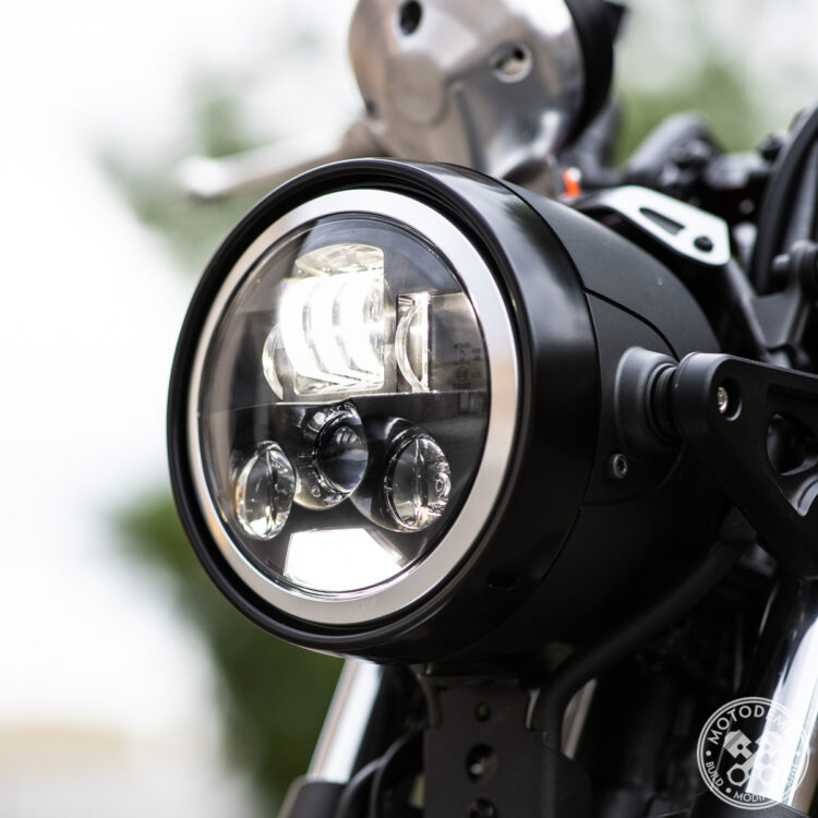 XSR700 LED Headlight Upgrade