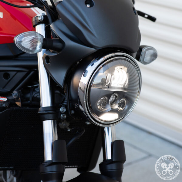 SV650 LED Headlight Upgrade