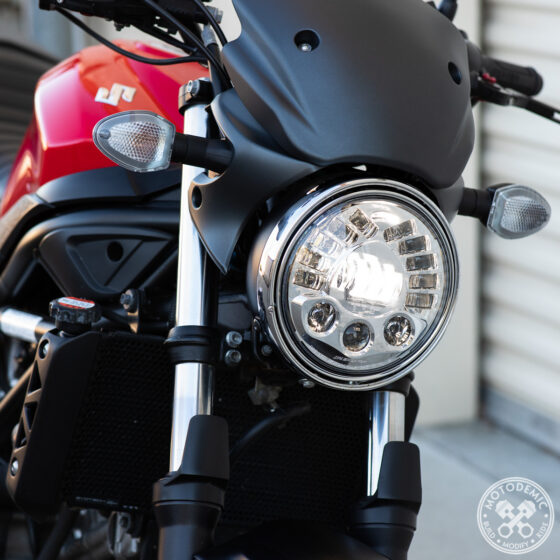 SV650 LED Headlight Upgrade