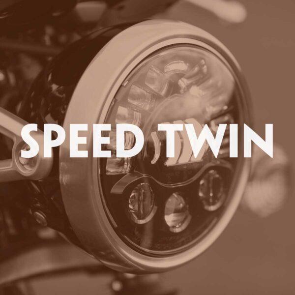 LED Headlight Upgrade Speed Twin
