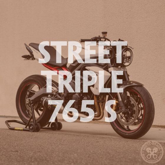 Street Triple Single Headlight Conversion 765 S