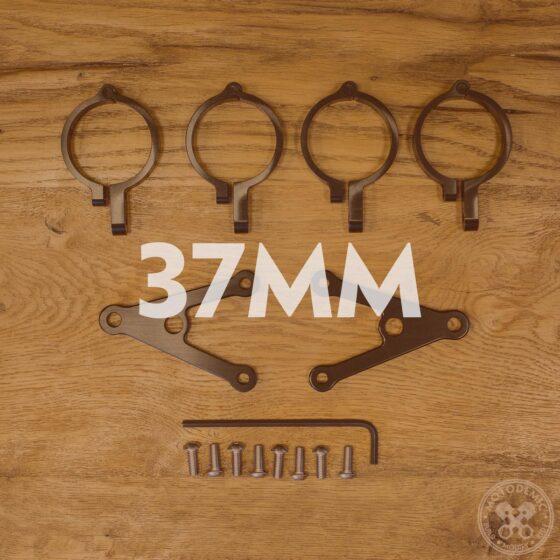 37mm Headlight Brackets