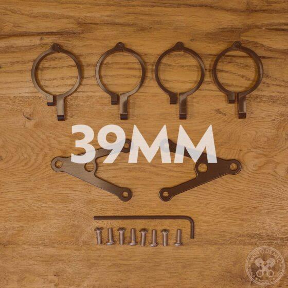 39mm Headlight Brackets