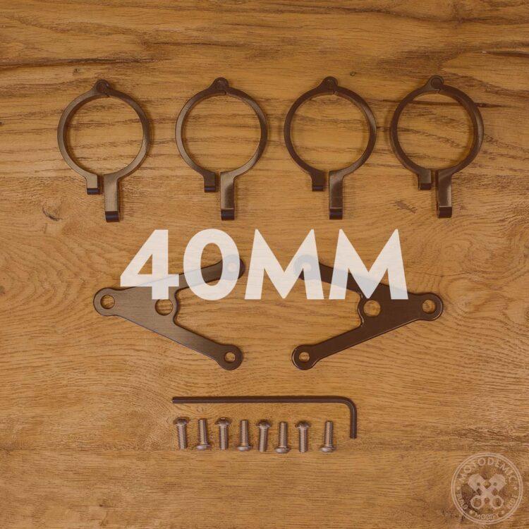 40mm Headlight Brackets