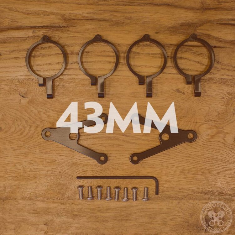 43mm Headlight Brackets